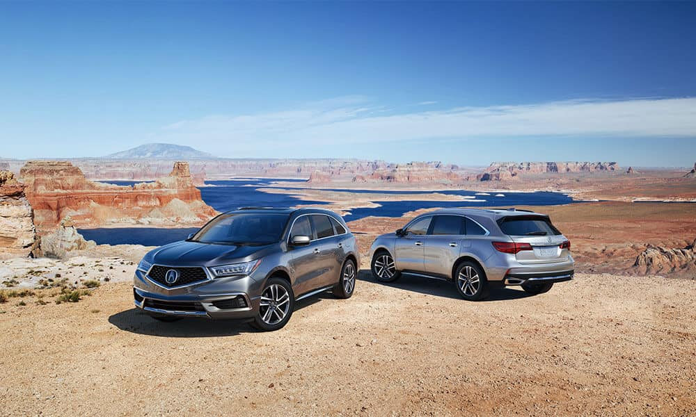 2018 Acura MDX Advance Package Two Vehicles