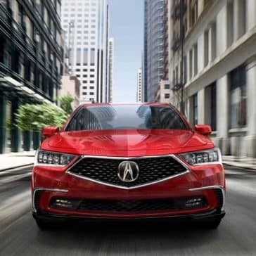2018 Acura RLX Front view grille