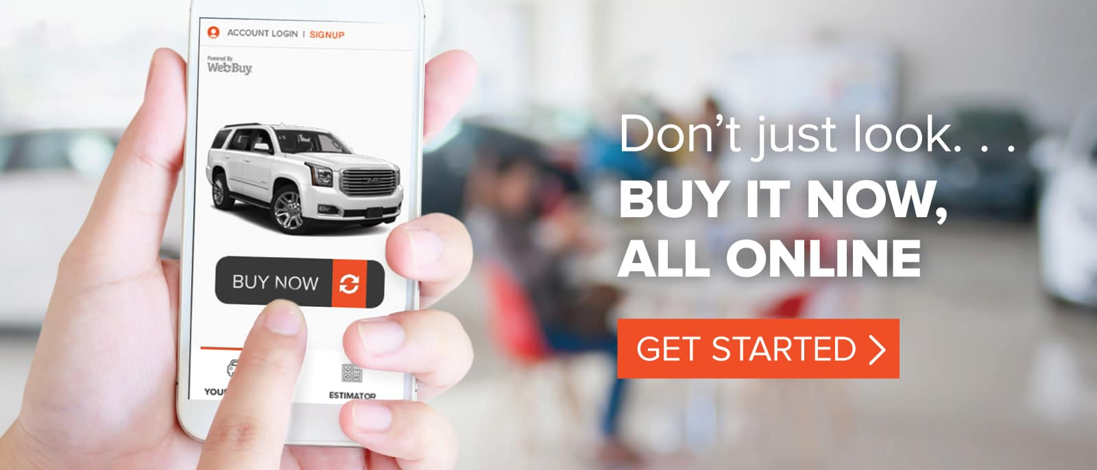 Don't just look, buy it now. Get started