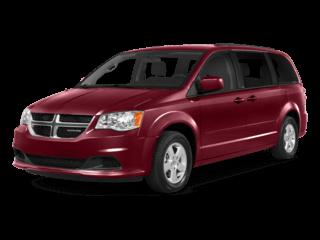 Grand Caravan in red