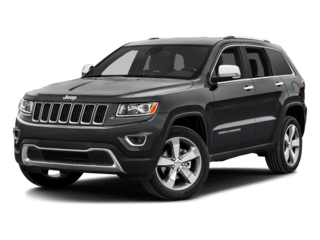 Grand Cherokee in dark gray