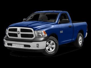 Ram 1500 in blue