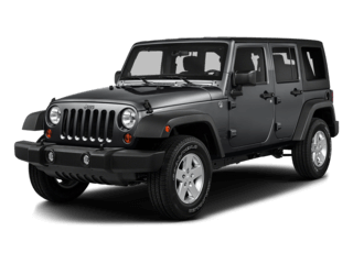 2016 Wrangler Unlimited in gray
