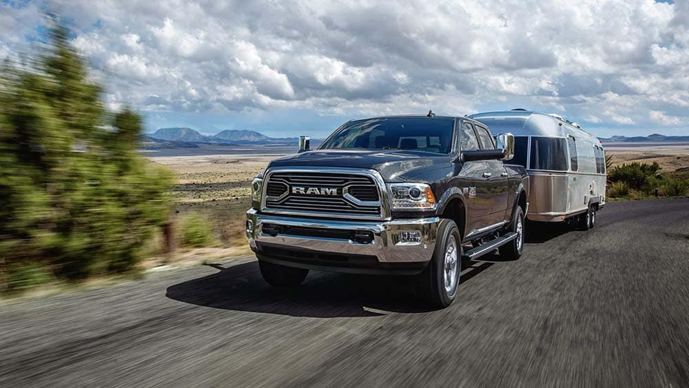 2018 RAM 2500 on the highway