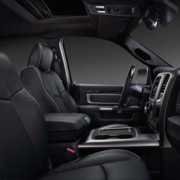 2018 RAM 2500 interior features