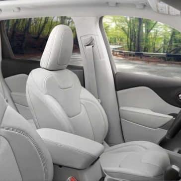2019 Jeep Cherokee interior seating