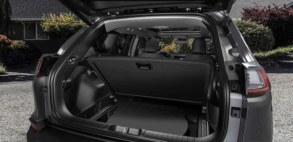 2019 Jeep Cherokee cargo space