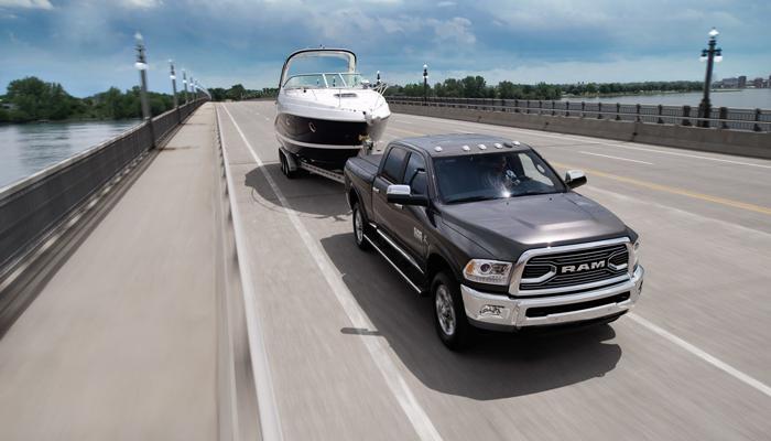 2018 Ram 2500 Highway Towing Boat