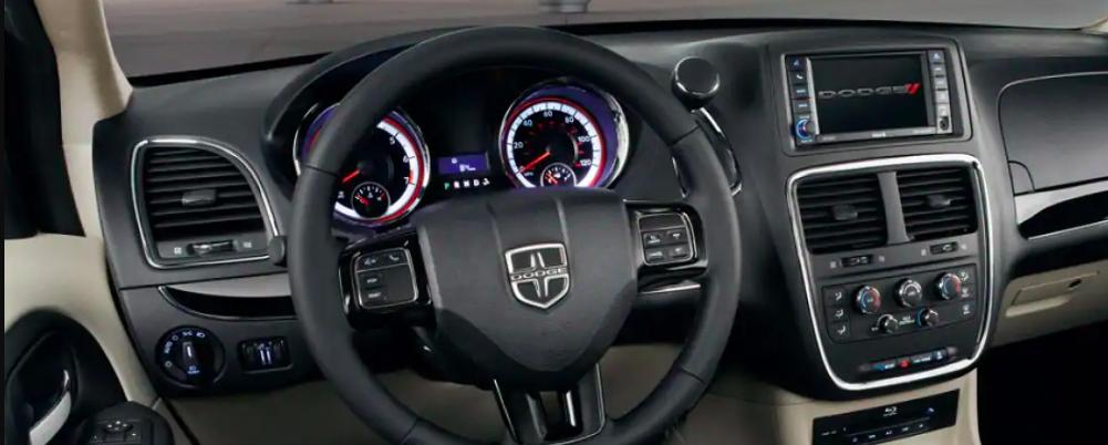 2019 Dodge Grand Caravan Interior Dashboard and Console