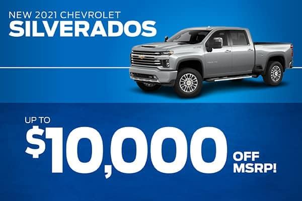 Grieco Specials Image - New 2020 Chevrolet Silverado 1500