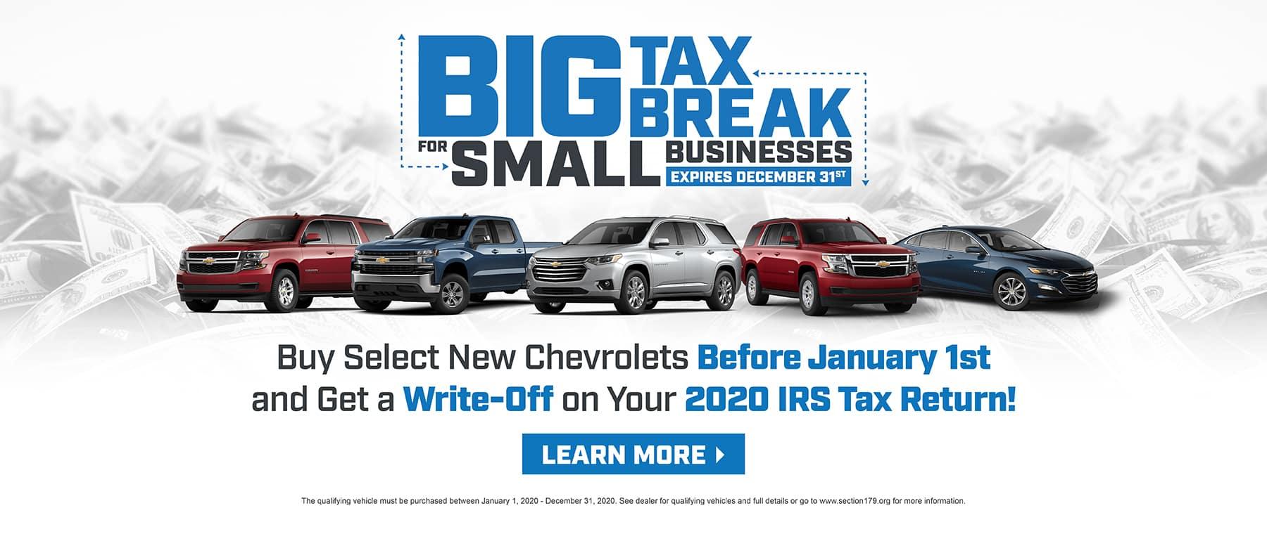 Big Tax Break for Small Business