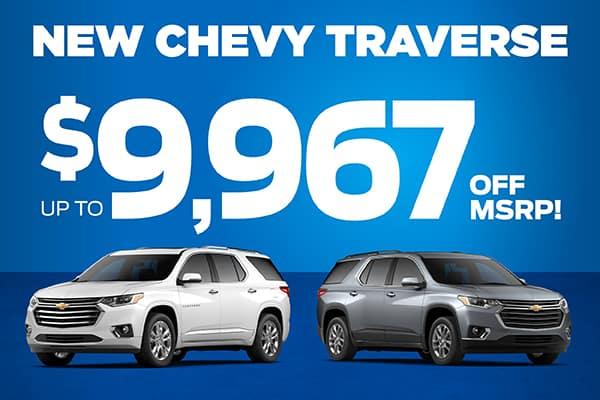 Grieco Specials Image - New 2020 Chevrolet Traverse LS
