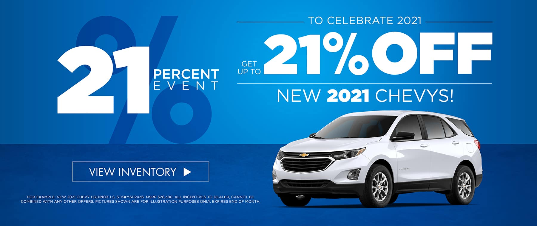 To celebrate 2021 get 21% OFF