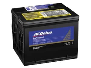 AC Delco Car Battery