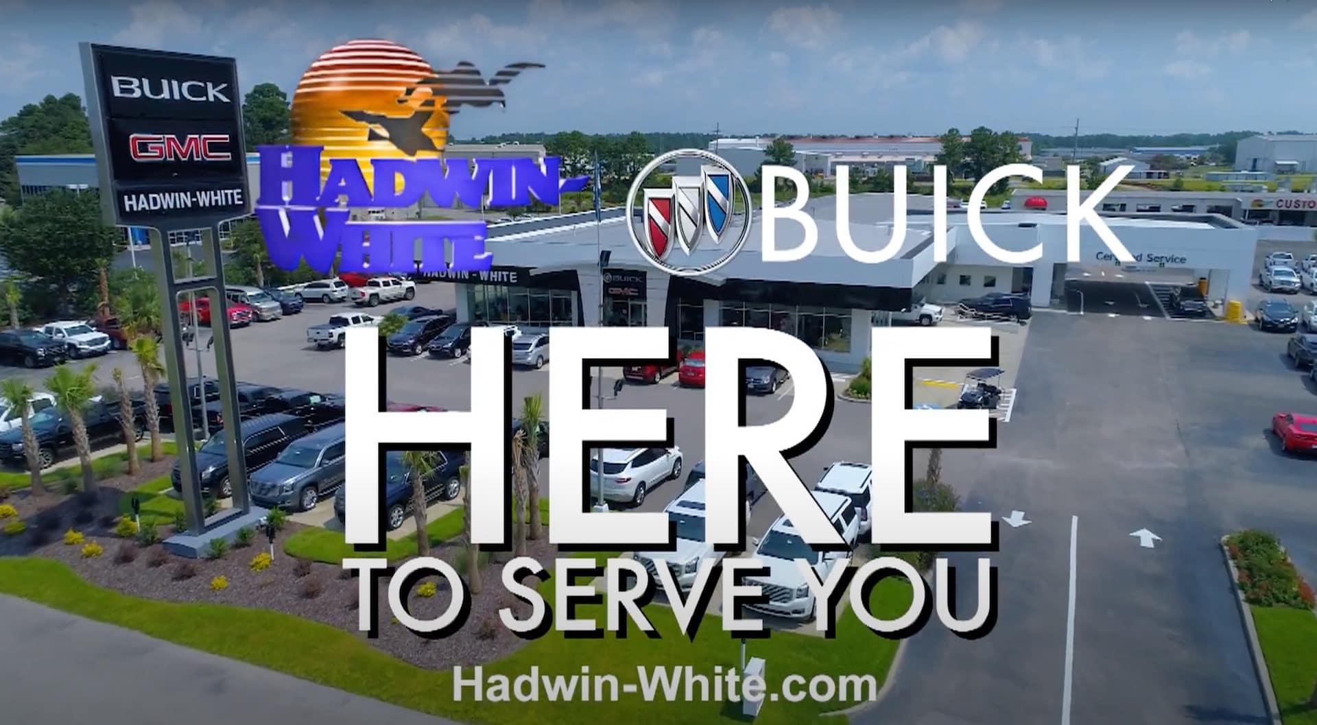 Buick Spring Savings Sales Event Hadwin White