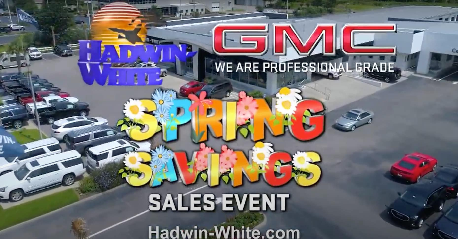 GMC Spring Sales Event