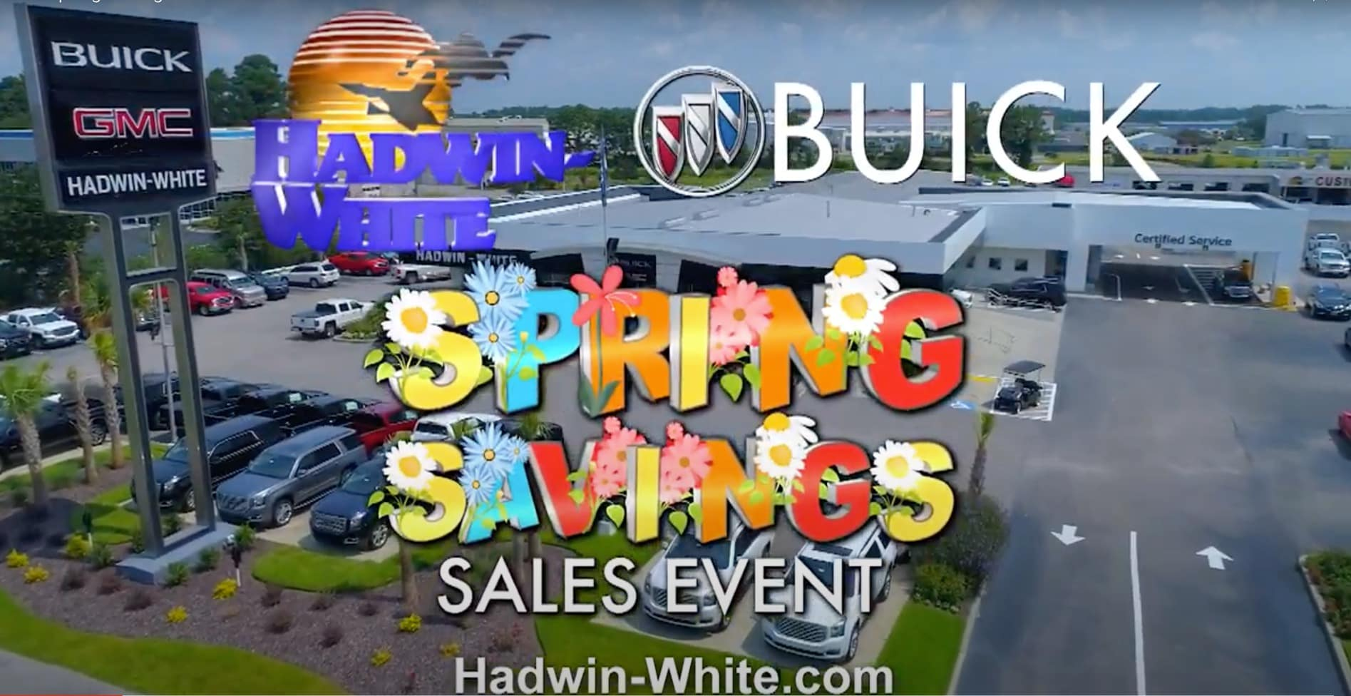 Buick Spring Savings Sales Event Hadwin White