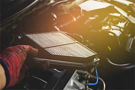 Engine Air Filter Change for Full Size SUV & Trucks $59.95