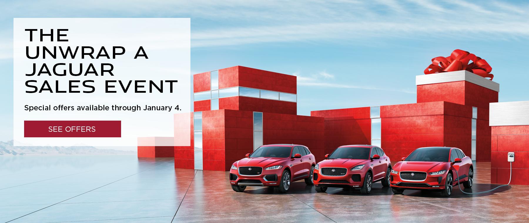 Unwrap a Jaguar Sales Event