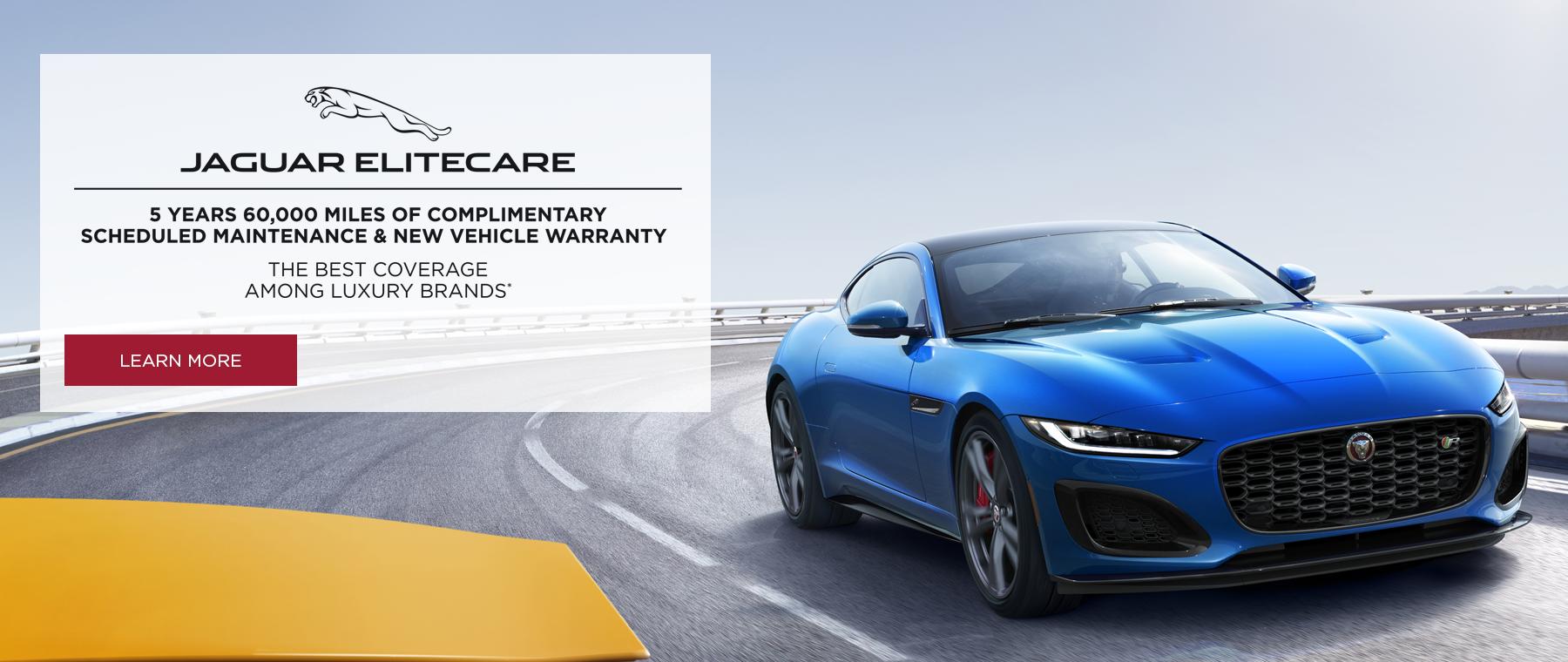 Jaguar EliteCare the best coverage among luxury brands