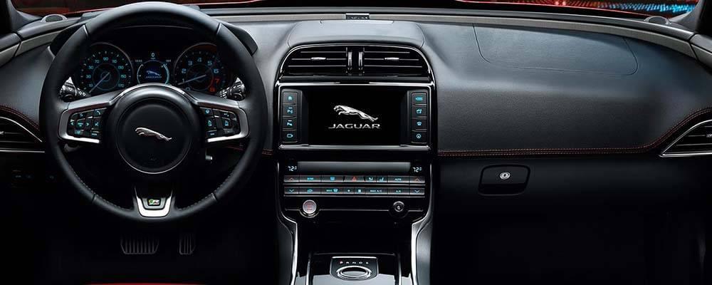 2017 Jaguar XE Interior Dashboard