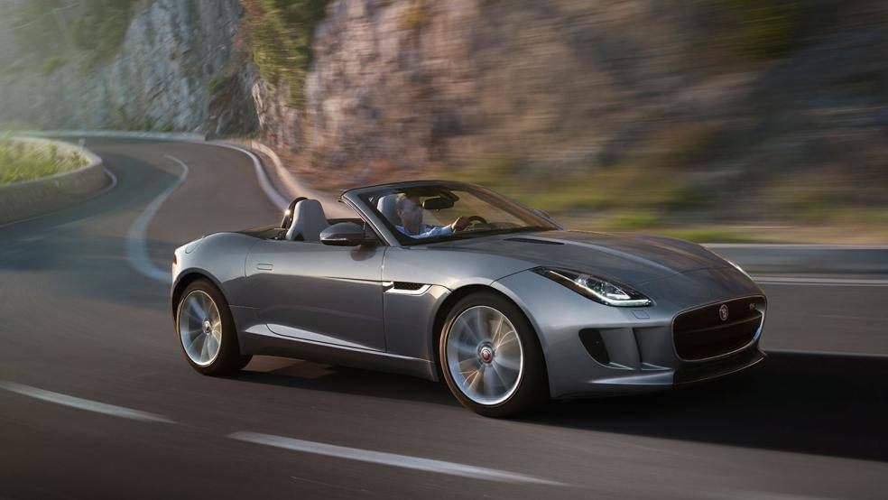 2015 Jaguar F-TYPE Winding Mountain Road