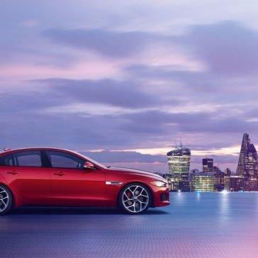 2018 Jaguar XE Side View