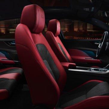 2018 Jaguar XE Red Interior