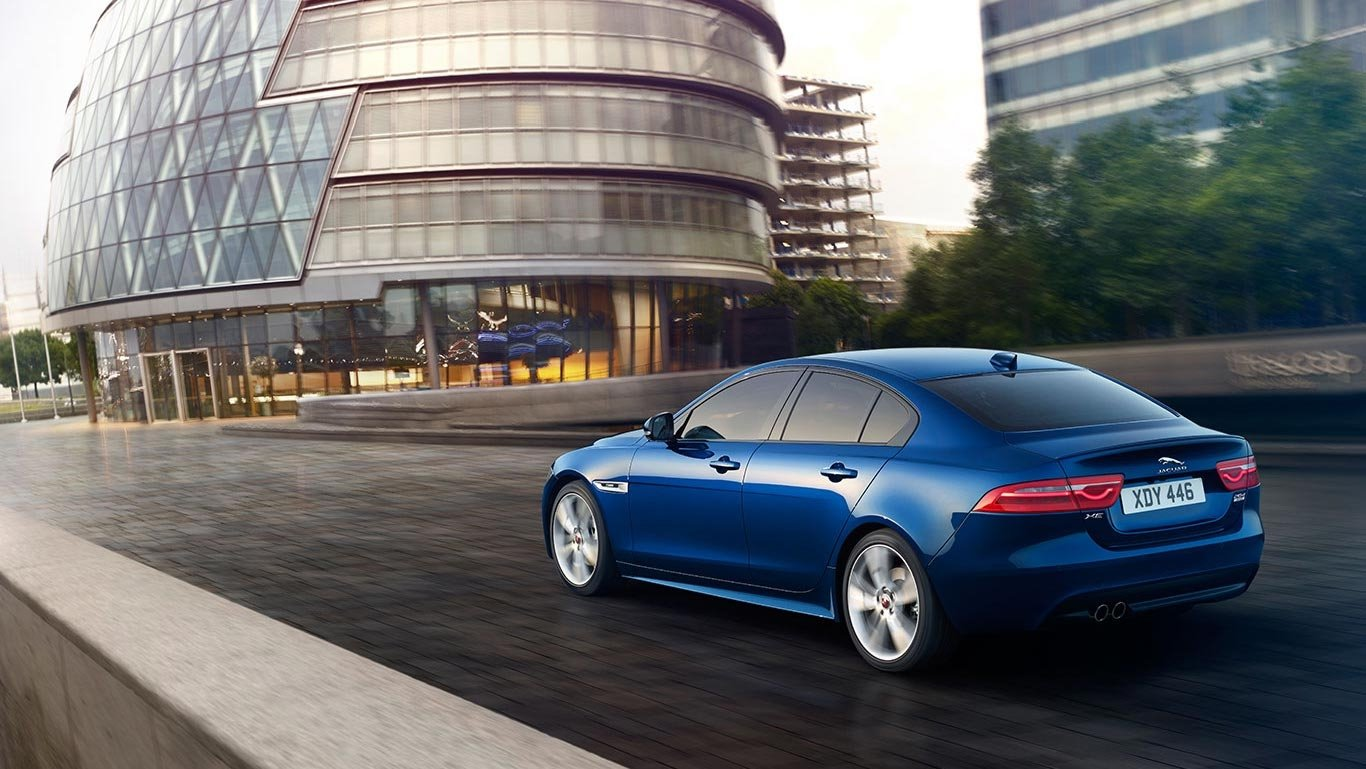 2018 Jaguar XE driving