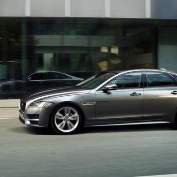 2018 Jaguar XF parked