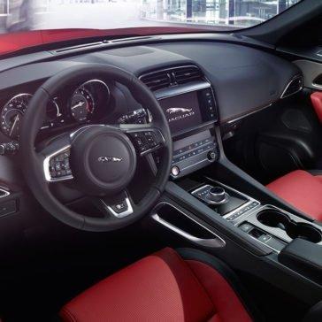 2018 Jaguar F-PACE Interior Red