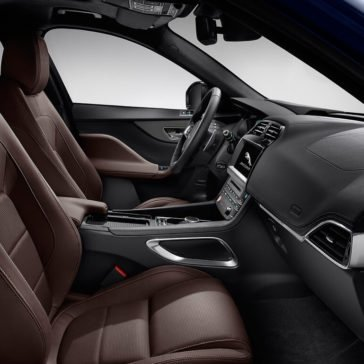 2018 Jaguar F-PACE Side View of Interior