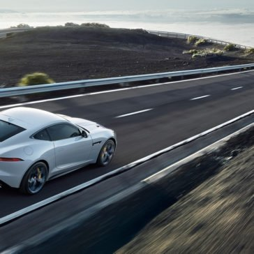 2018 Jaguar F-TYPE Coupe driving