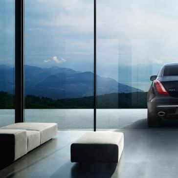 2018 Jaguar XJ exterior rear view