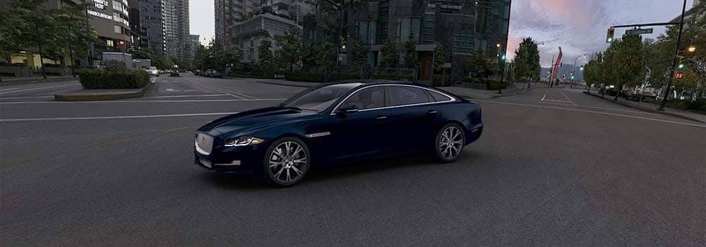 2018 Jaguar XJ Parked on City Street