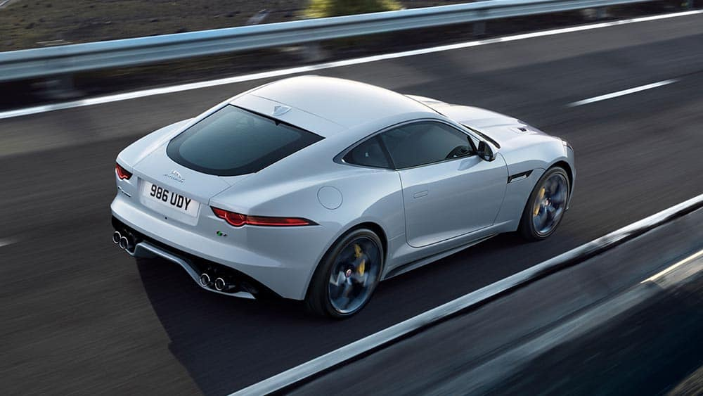 2019 Jaguar F-TYPE Coupe driving