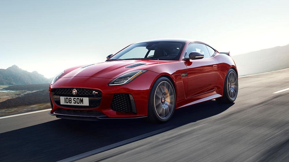 2019 Jaguar F-TYPE Driving