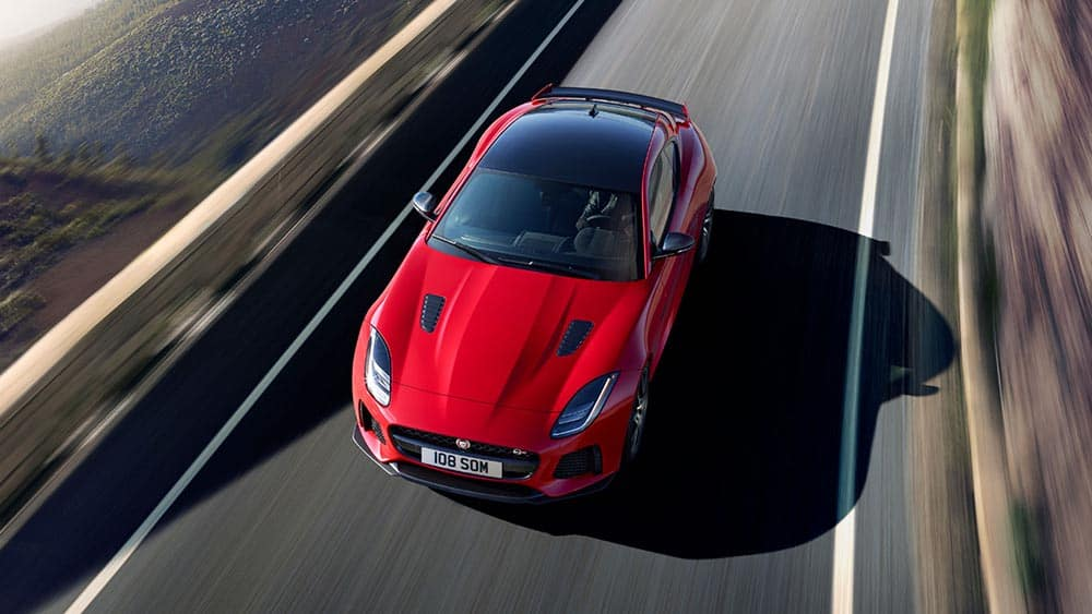 Top View of 2019 Jaguar F-TYPE