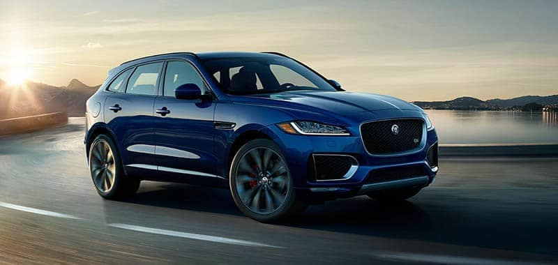 2018 Jaguar F-PACE Driving