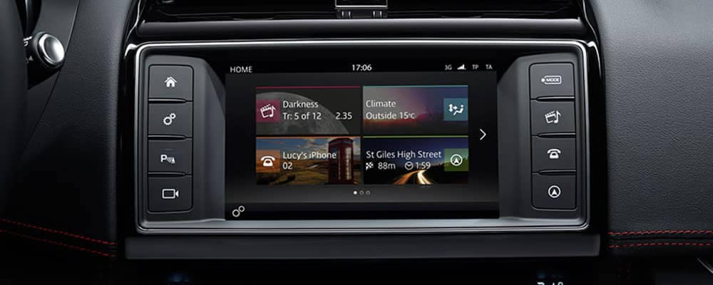 Jaguar Incontrol Touch Technology