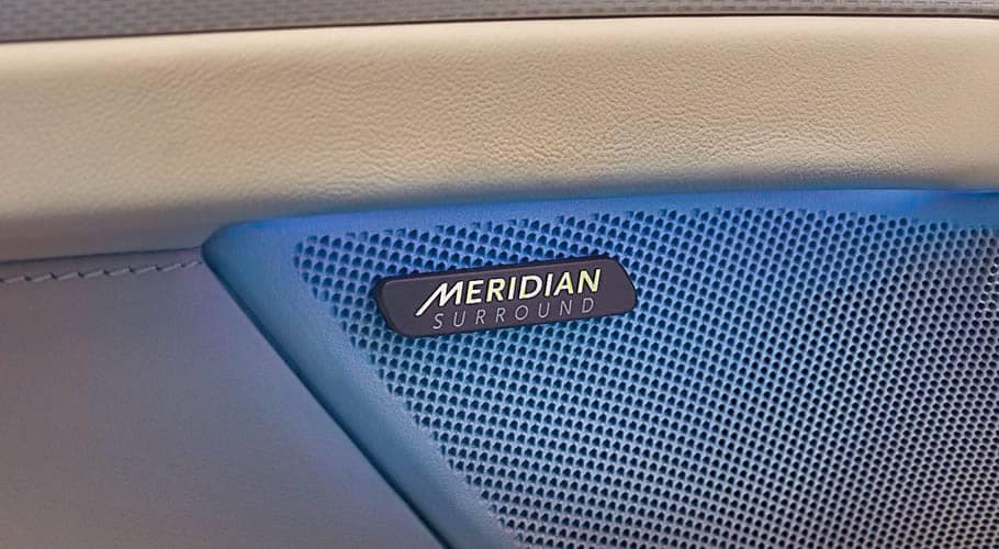 Jaguar XF Meridian Surround System