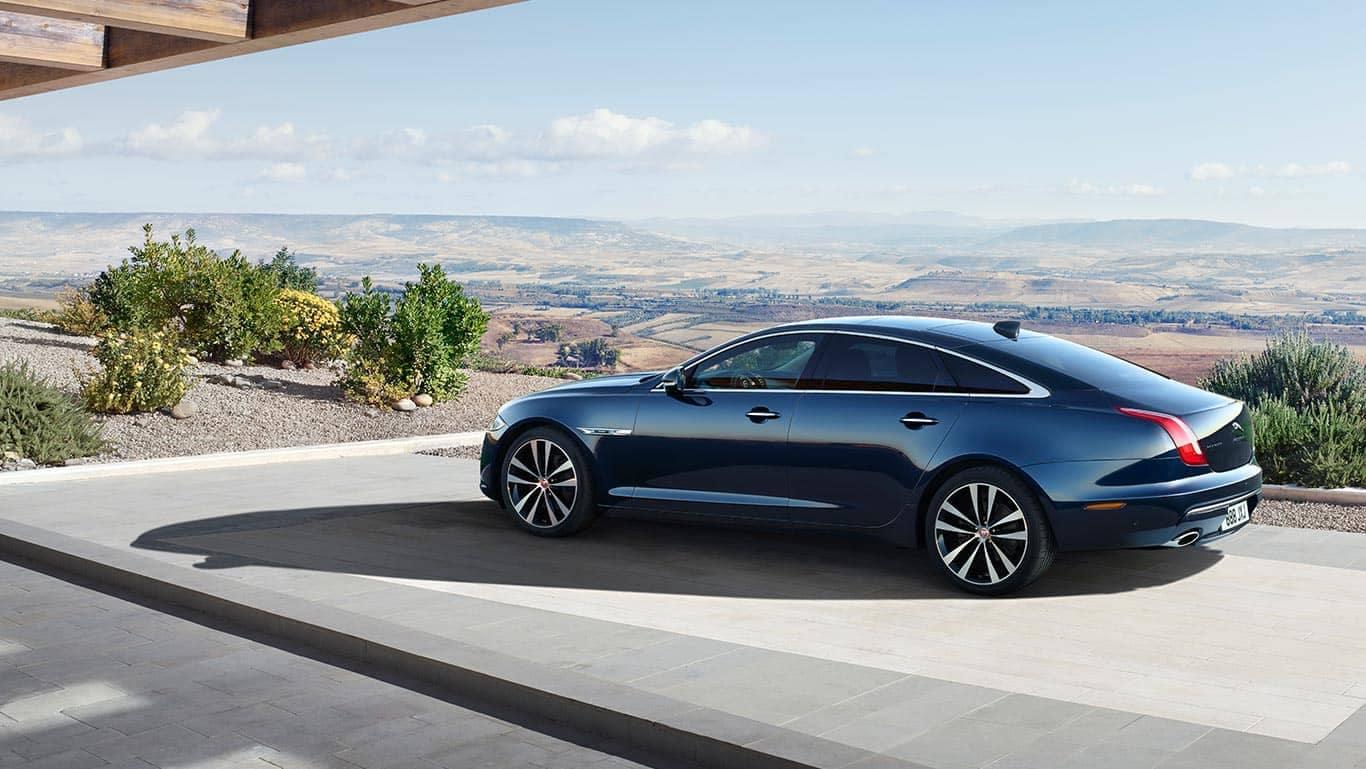2019 Jaguar XJ Parked Outside Home
