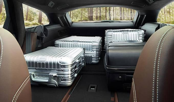 2019 Jaguar XF Cargo Space