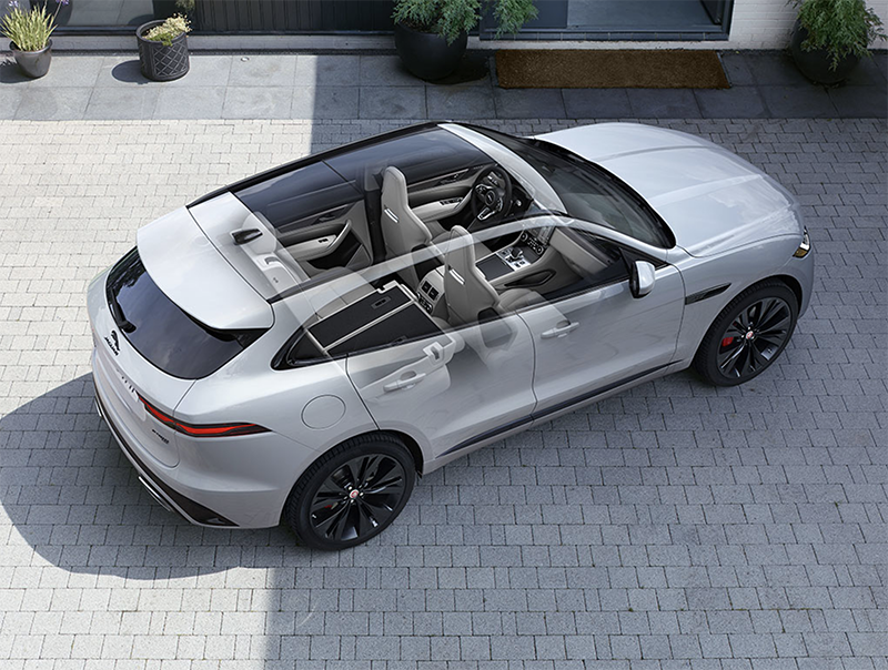 Featuring Jaguar's signature headlights, bold grille, sleek curves, and modern accents. Browse some of the latest interior and exterior design highlights.