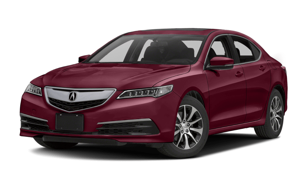 2017-Acura-TLX Red