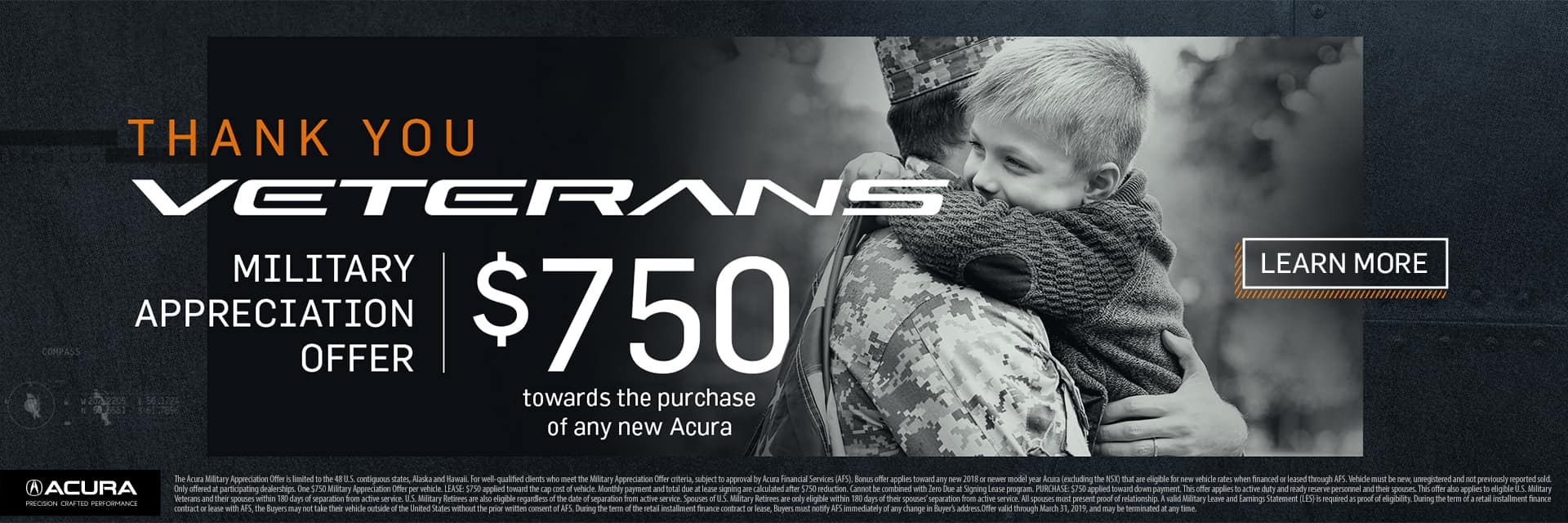 $750 Veterans Savings