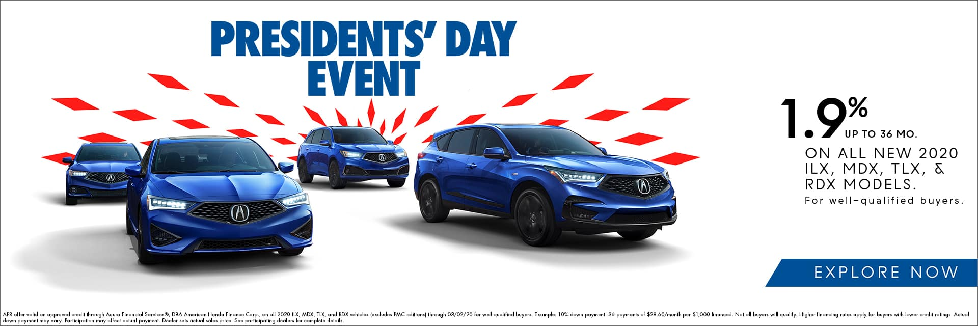 President's Day Event - 1.9% APR