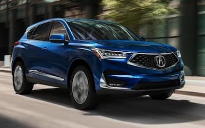 2020 Acura RDX Trim Comparison