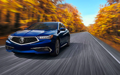 2020 Acura TLX Trim Comparison