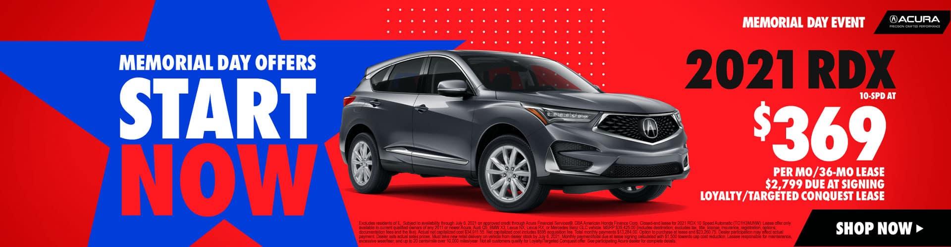 2021 Gray Acura RDX